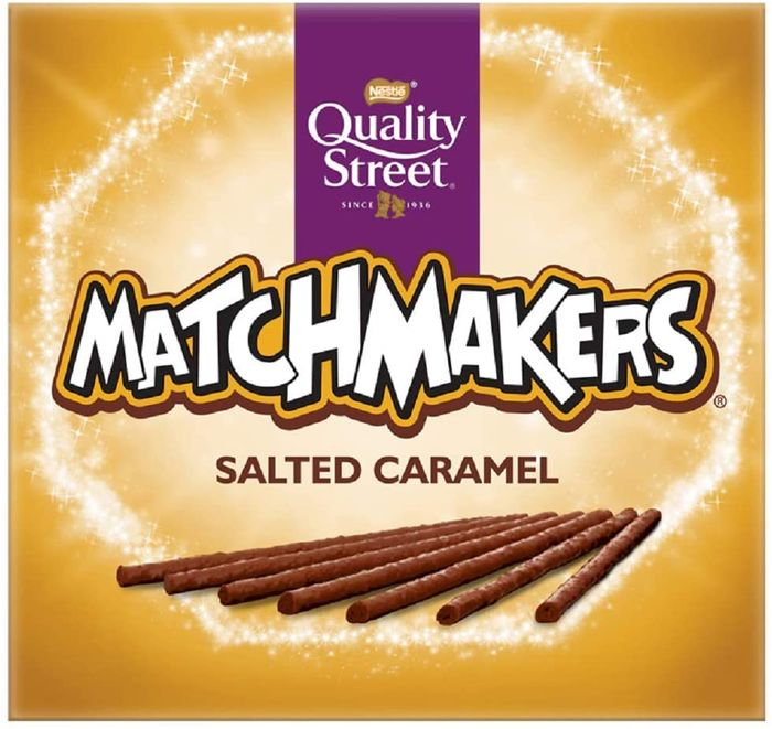 Quality Street Matchmakers Salted Caramel Chocolates, 120g