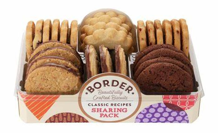 Cheap Border Biscuit Sharing Pack 400g - Only £2.47!