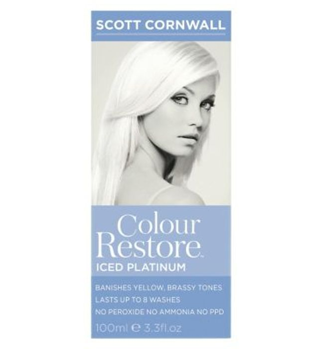 Scott Cornwall Colour Restore Iced Platinum Hair Toner 100ml