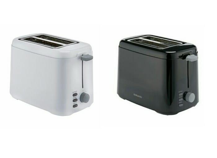 Cookworks Two Slice Toaster (Black or White)