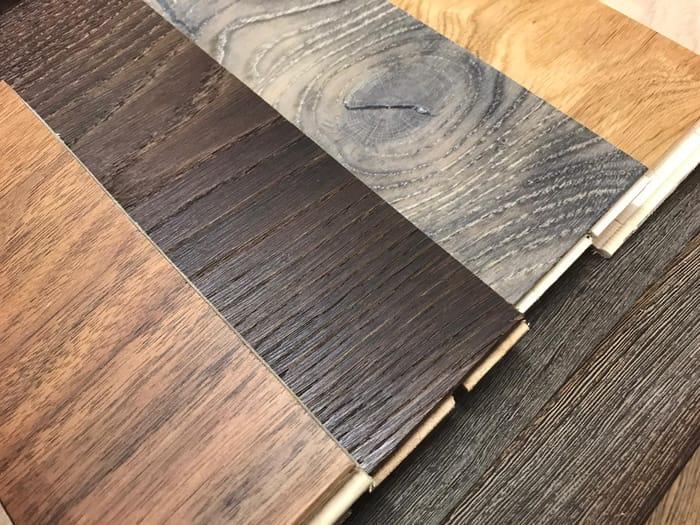 4 Free Hardwood Flooring Samples.