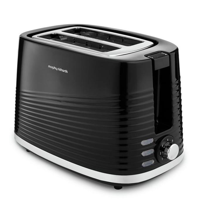 Morphy Richards 220026 Dune 2 Slice Toaster - Black
