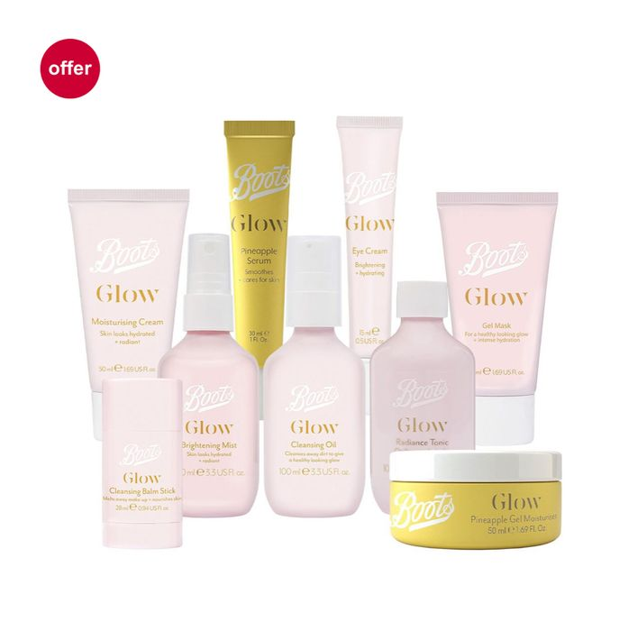 Black Friday , Boots the Glow Bundle Only £25 Worth £38