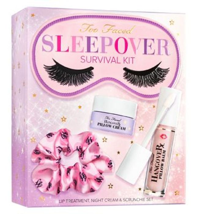 New ,Too Faced Sleepover Survival Kit Only £28