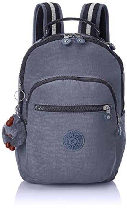 Kipling Seoul Go S, Small Backpack, 35 Cm, 8 Liters, Blue