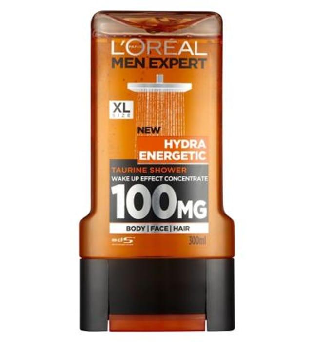 LOreal Men Expert Hydra Energetic Shower Gel 300ml