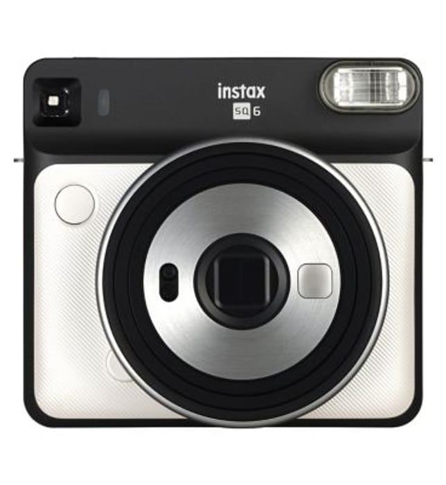 Instax SQ6 Instant Camera Pearl White