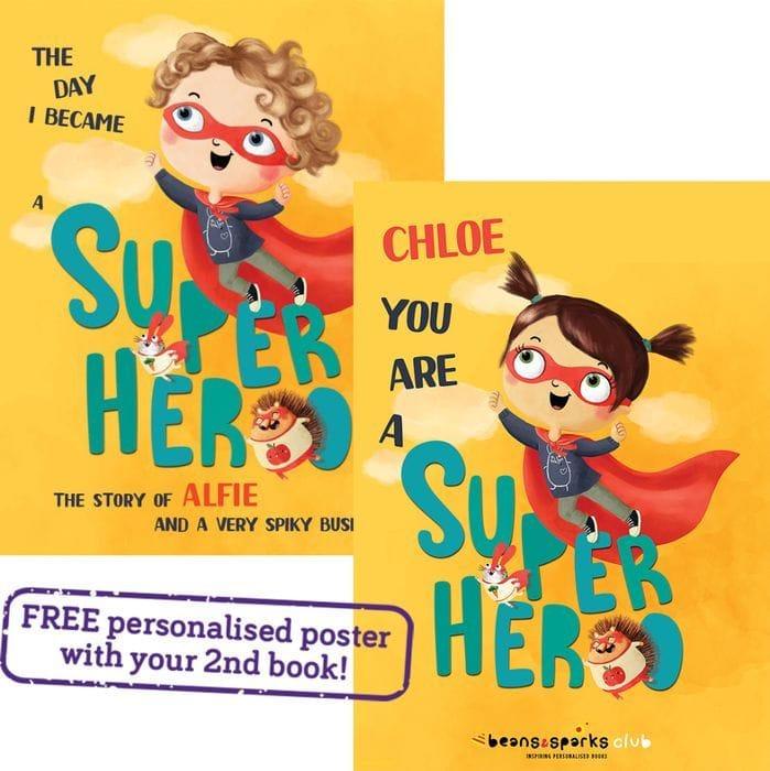 FREE Personalised Kids Book Worth £14.99 (£1.99 P&P)