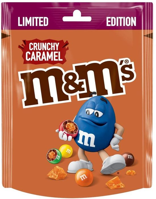 M&M's Crunchy Caramel Limited Edition Pouch
