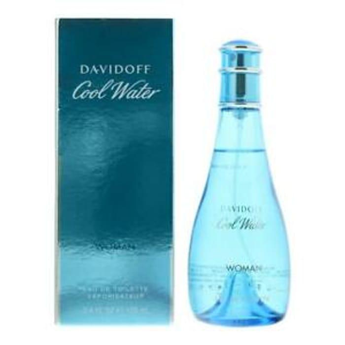 Davidoff Cool Water Woman Eau De Toilette 100ml Spray