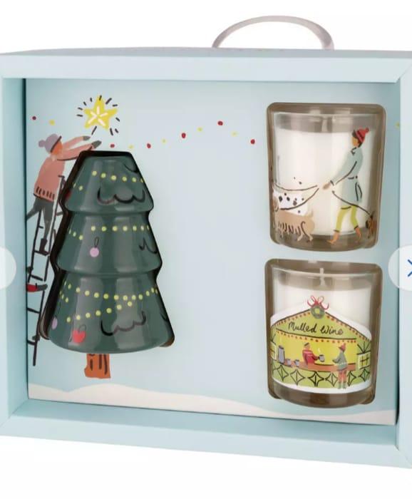 Argos Home Christmas Scene Gift Set
