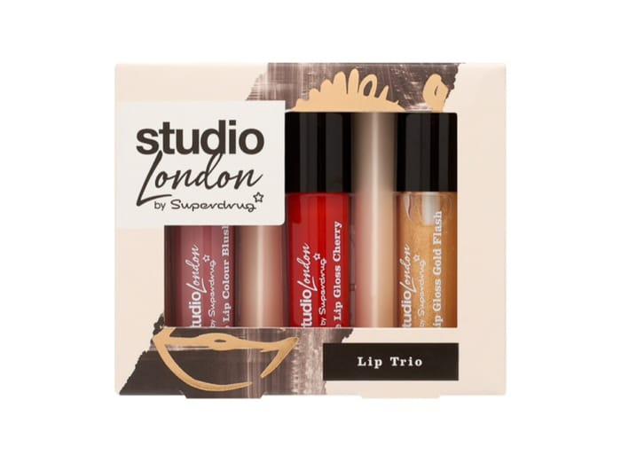 Superdrug Studio London Lip Trio Gift Set