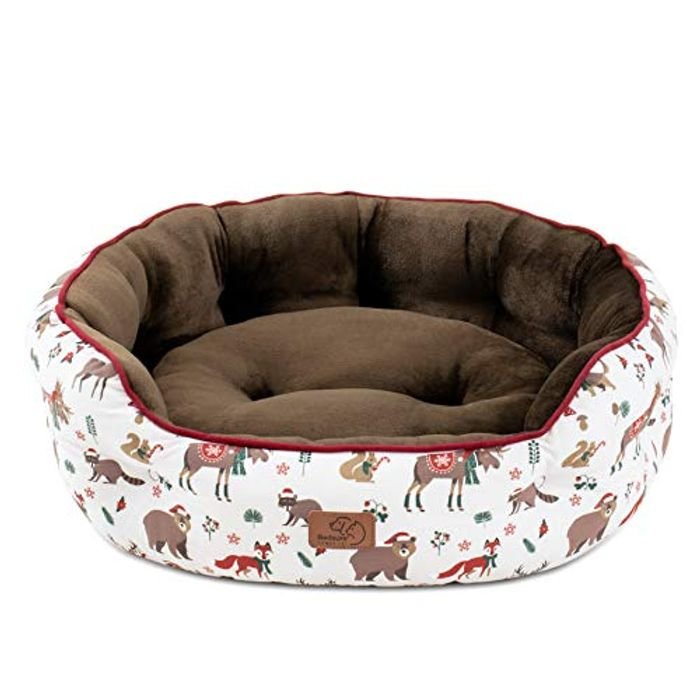 Save 40% on Christmas Bed for Large Cats and Small Dogs