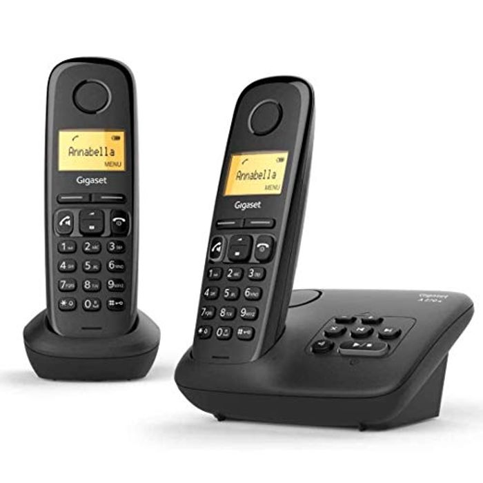 Gigaset A270A Duo Twin Cordless Home Telephones