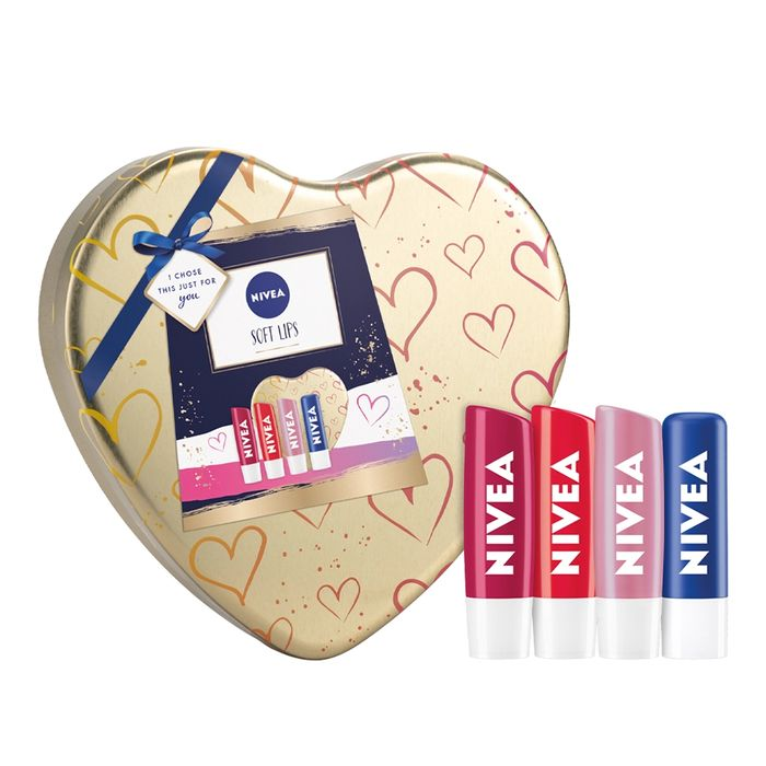 Nivea Soft Lips Gift Set Only £3.99