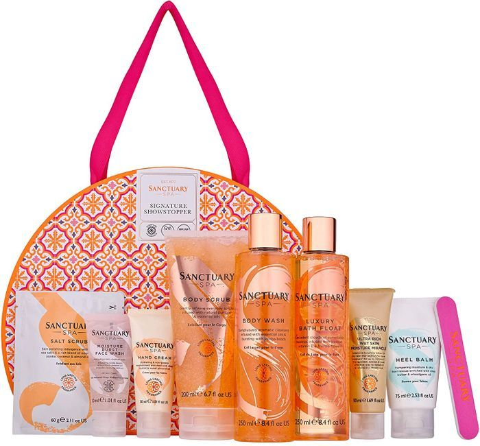 Sanctuary Spa Signature Showstopper Bath & Body Gift Set - Free Delivery