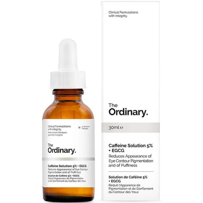 CHEAP! Puffy Eyes & Dark Circles ORDINARY Caffeine Solution 5% + EGCG