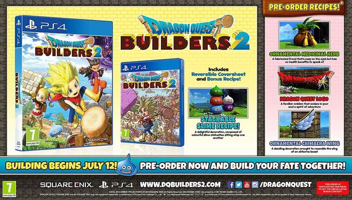 Dragon Quest Builders 2 (PS4) - Only £12.85!