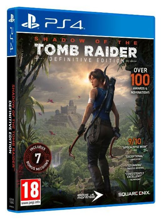 PS4 Shadow of the Tomb Raider: Definitive Edition £12.85 at ShopTo