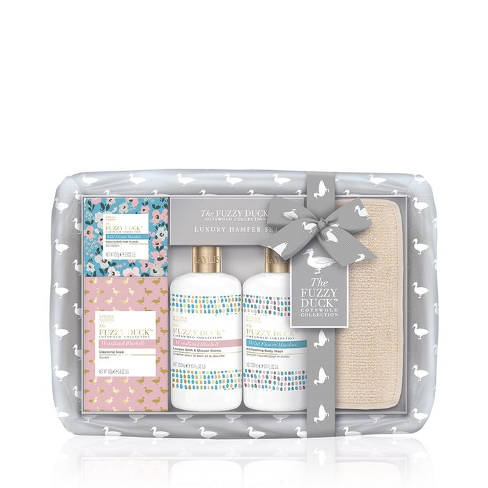 Baylis & Harding-'The Fuzzy Duck' Cotswold Floral Bodycare Hamper