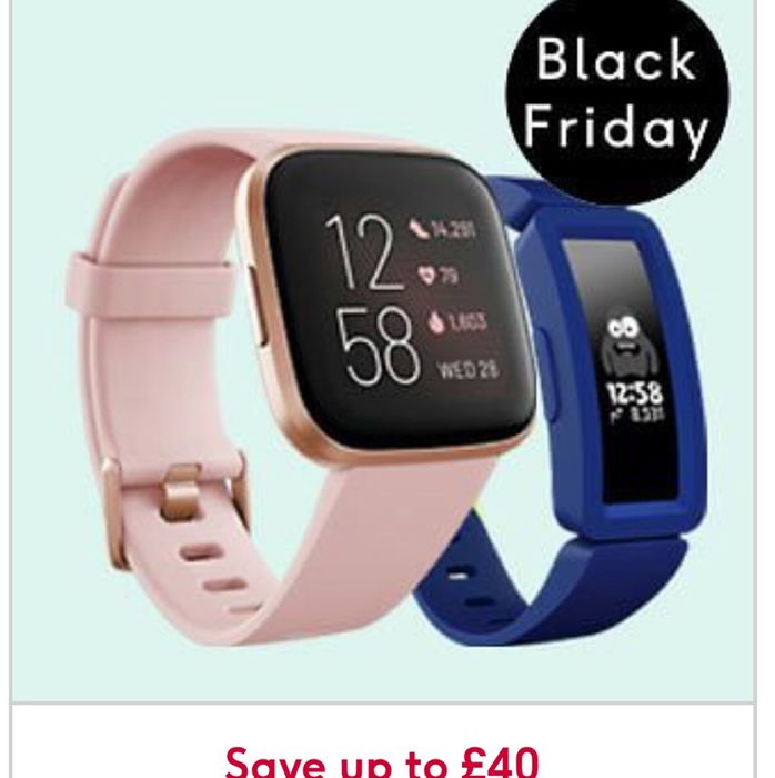 Black Friday - save up to £40 on Selected Fitbit - Online Only