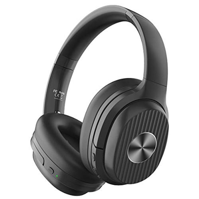 Bluetooth 5.0 Active Noise Cancelling Headphones with 60 Hrs Playtime