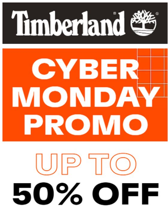 Timberland - CYBER MONDAY - Up to 50% OFF