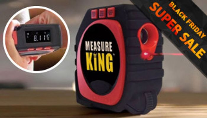 CHEAP! 3-in-1 Laser Tape Measure with Digital Display by Shop-Story