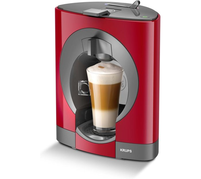*SAVE £61* DOLCE GUSTO by Krups Oblo Coffee Machine - Red