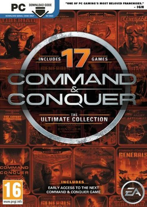 COMMAND and CONQUER: THE ULTIMATE COLLECTION PC - Only £2.99!