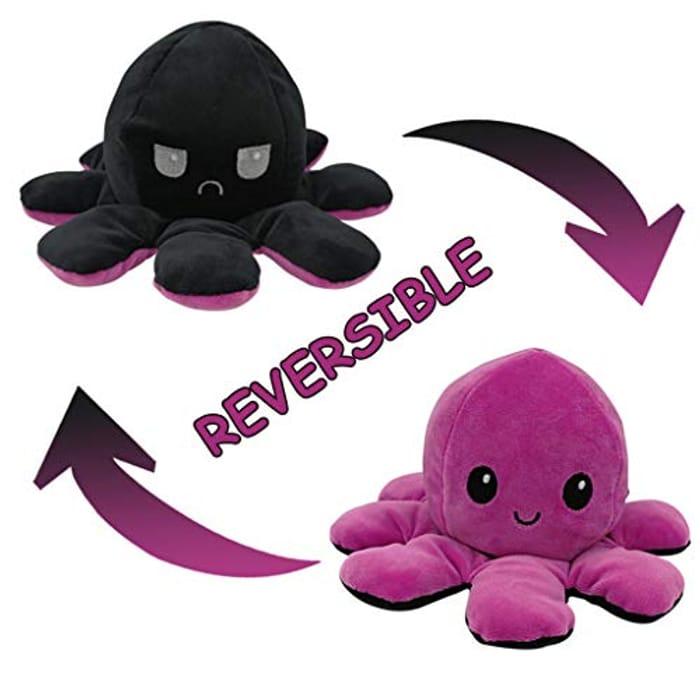 Octopus Plush Reversible Soft Toy