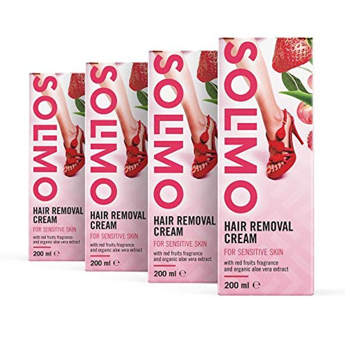 Solimo Hair Removal Cream for Sensitive Skin