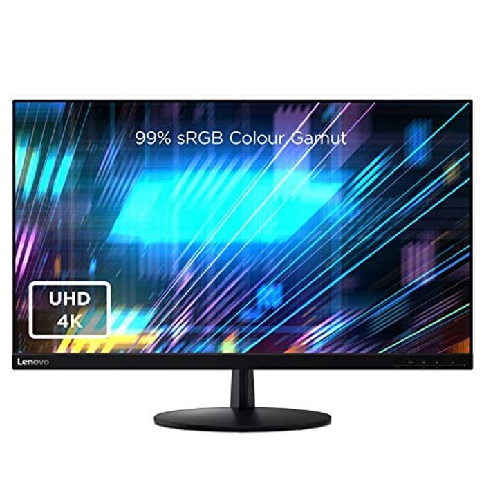 Lenovo L28u-30 28 Inch 4K Monitor Tilt Screen - Only £199.99!