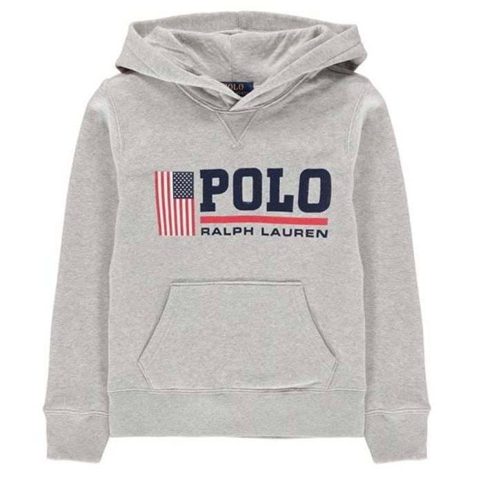 POLO RALPH LAUREN Flag Print Sweater