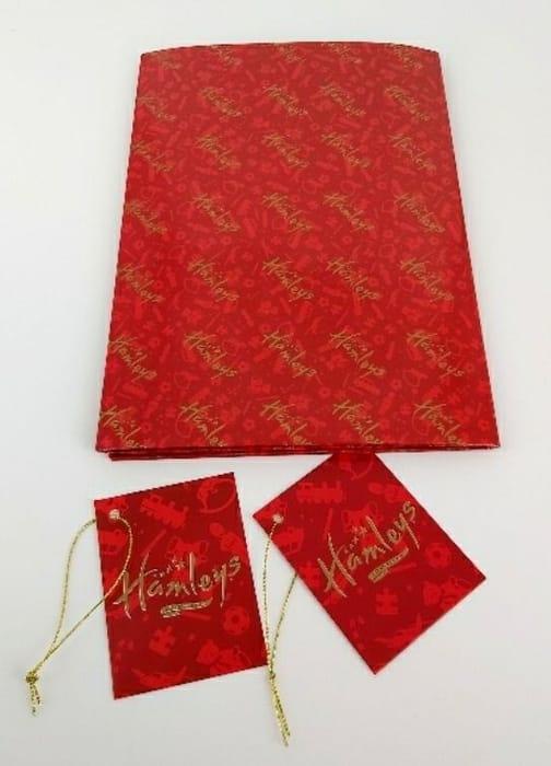 Hamleys Luxury Wrap 2 Sheet