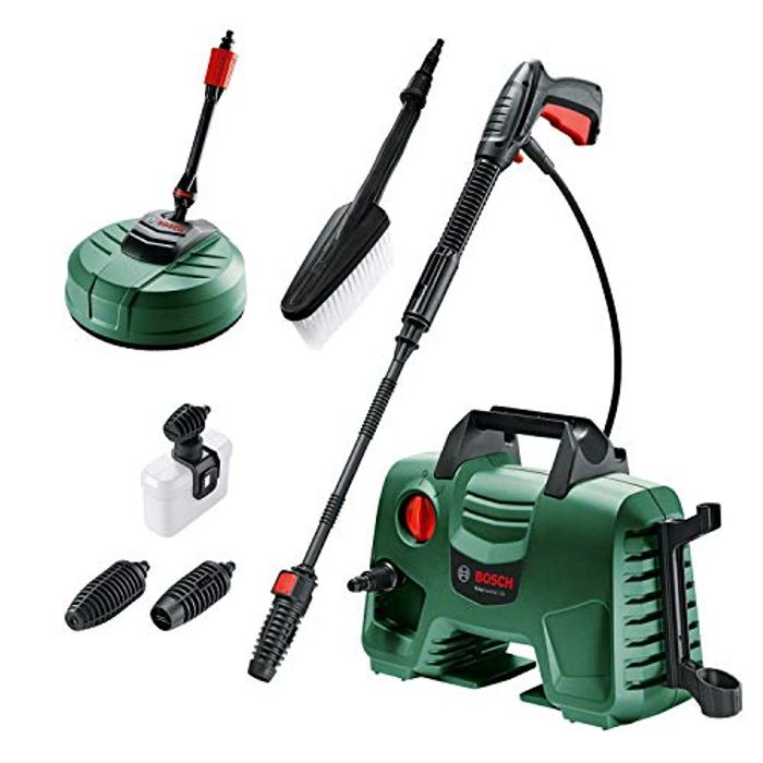 Bosch High Pressure Washer EasyAquatak 120 (1500W, Home and Car Kit Included)