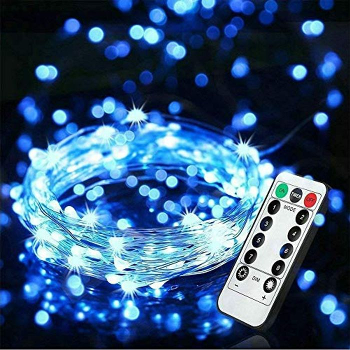 LED Dimmable Fairy Lights 10m 100 LED