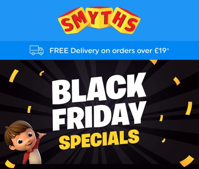 Smyths Toys Black Friday Specials Inc LEGO, Xbox, LOL & Paw Patrol