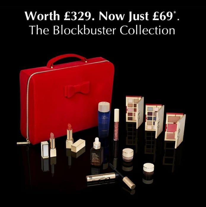 Estee Lauder Blockbuster Set worth £329 (No Other Purchase Necessary)