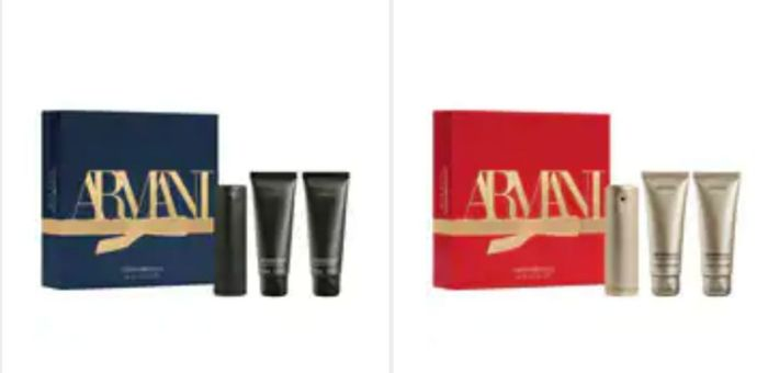 1/2 PRICE Black Friday on Emporio Armani She / He Sets Price From £25.50