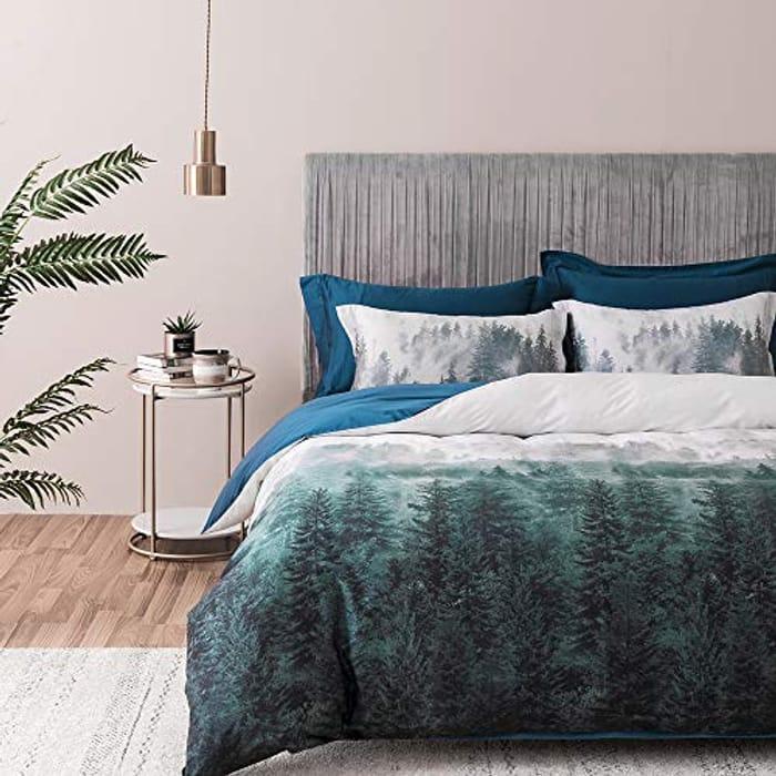LIGHTNING DEAL - SOULFUL Duvet Cover Bedding Set