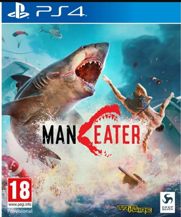 PLAYSTATIONManeater