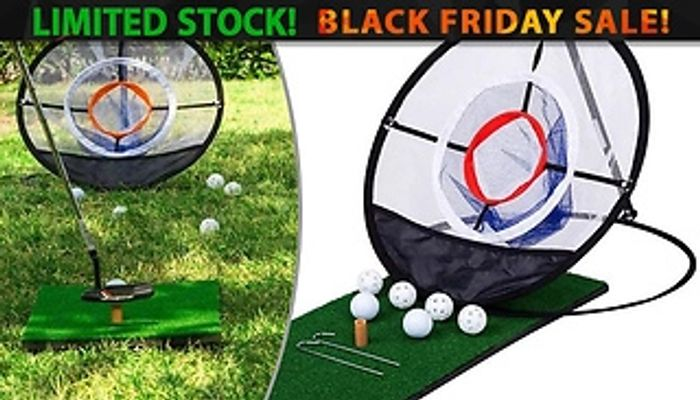 Golf Chipping Practise Net by EClife-Style