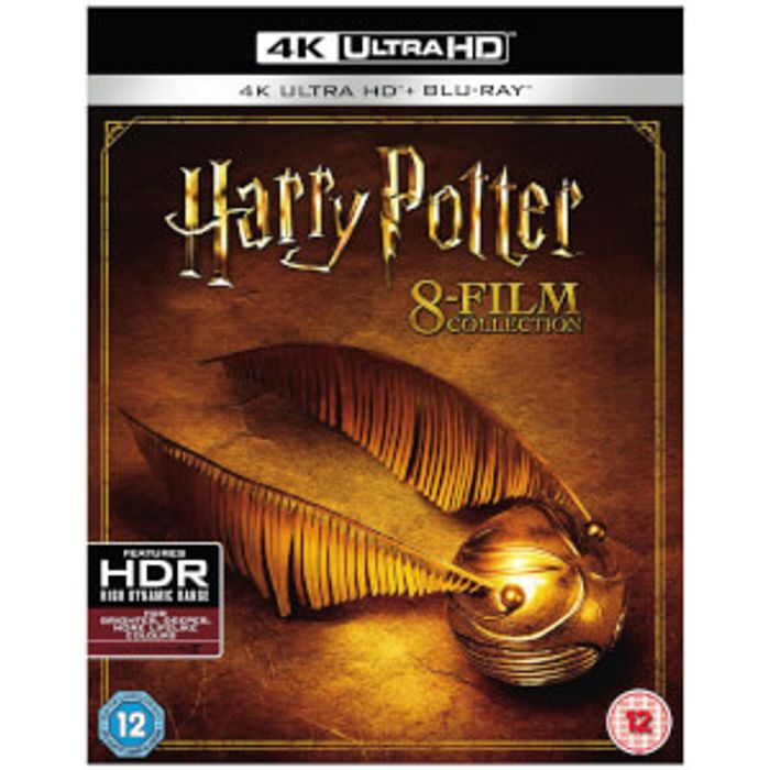 ALL 8 Harry Potter Complete Collection - 4K Ultra HD
