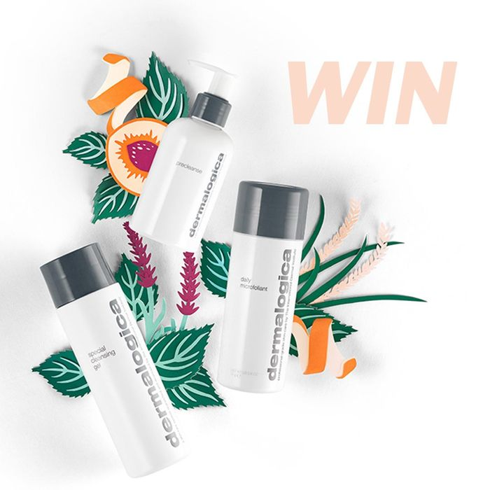 Win a Limited Edition Dermalogica Cleanse & Glow To Go Gift Set!