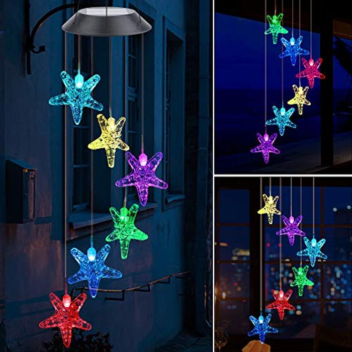LED Solar Wind Chime