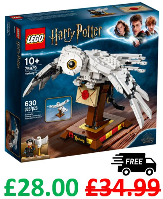LEGO HARRY POTTER - Hedwig the Owl (75979) *4.9 STARS*