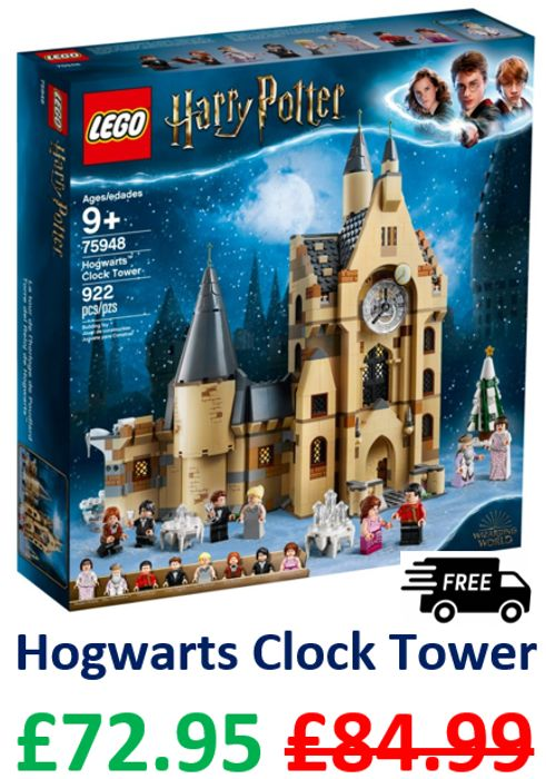 LEGO HARRY POTTER - Hogwarts Clock Tower *4.9 STARS* (75948)