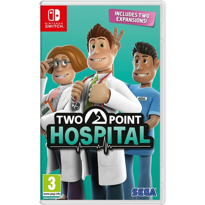 Two Point Hospital Nintendo Switch - Only £19.99!