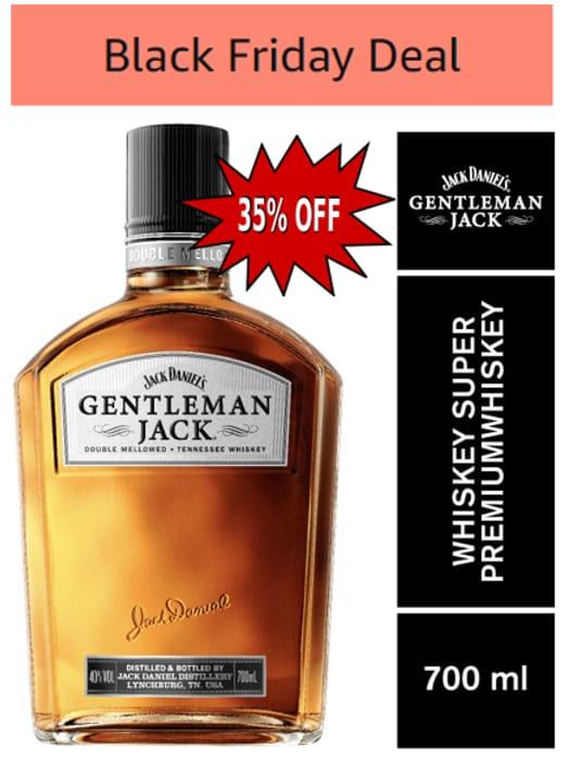 Jack Daniel's Gentleman Jack Tennessee Whiskey, 70cl